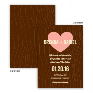 Evie Save The Date Cards