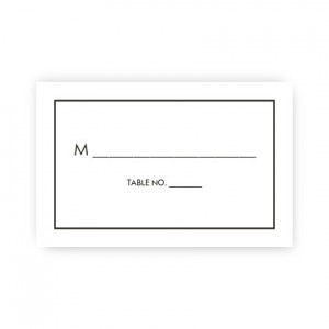 Audrey Seating Cards