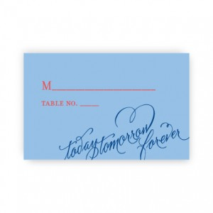 Josephine Seating Cards