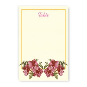 Tatum Table Cards