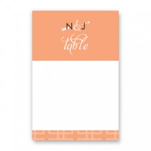 Layla Table Cards