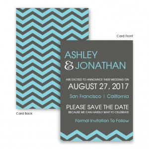 Charlie Save The Date Cards