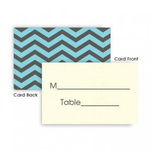 Charlie Seating Cards