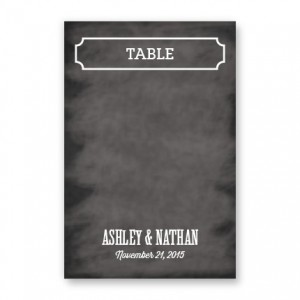 Keely Table Cards