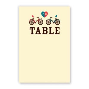 Sawyer Table Cards