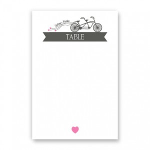 Ruby Table Cards