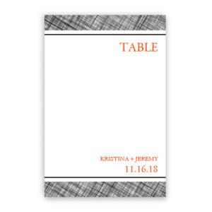Peyton Table Cards