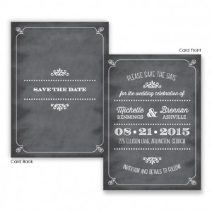 Tarryn Save The Date Cards