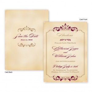 Greta Save The Date Cards
