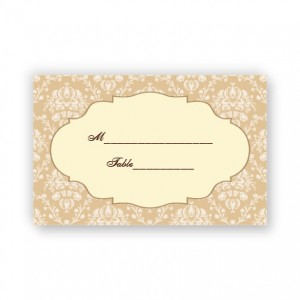 Lindsey Seating Cards