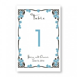 Framed in Love Table Cards