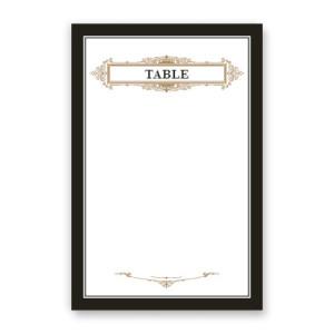 Clara Table Cards