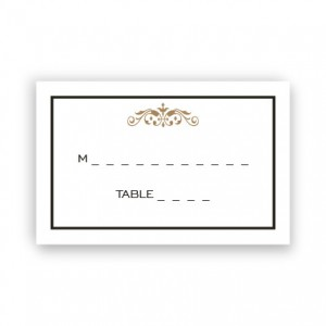 Rory Seating Cards