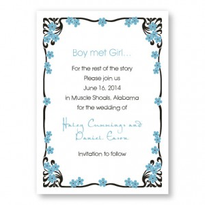 Framed in Love Save The Date Cards