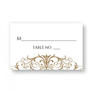 Ava Seating Cards