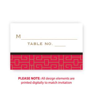 May Seating Cards