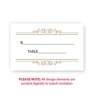 Skyla Seating Cards