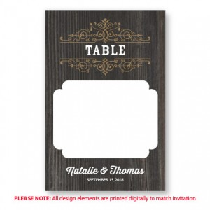 Helena Table Cards