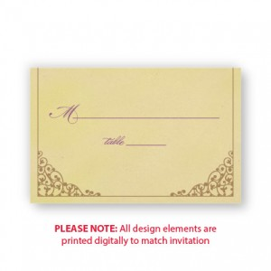 Melanie Seating Cards