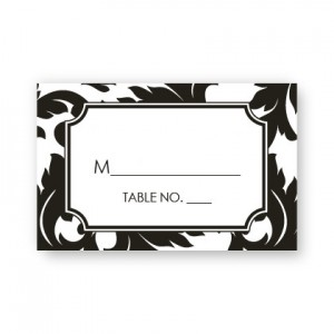 Katarina Seating Cards