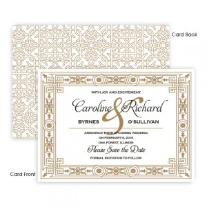 Sonja Save The Date Cards