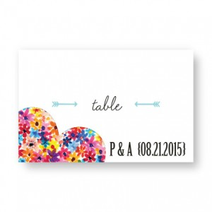 Maysie II Seating Cards
