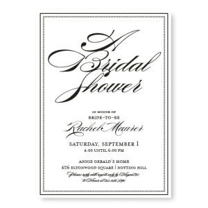 Ellington Bridal Shower Invitations