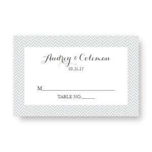 Tweed Seating Cards
