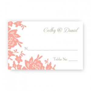 Antique Lace Seating Cards