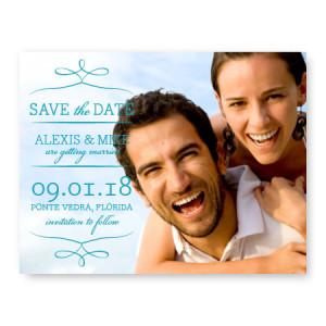 Photo Flourish Save the Date