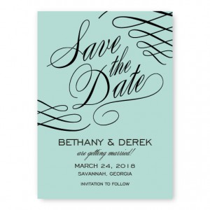 Luxe Save The Date Cards