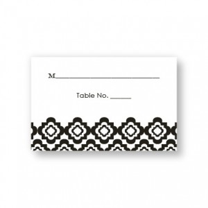 Creative Edges Seating Cards