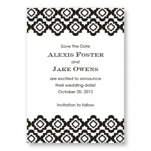Creative Edges Save the Dates