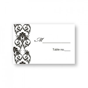 Romantic Vines Seating Cards