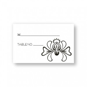 Delicate Touch Seating Cards