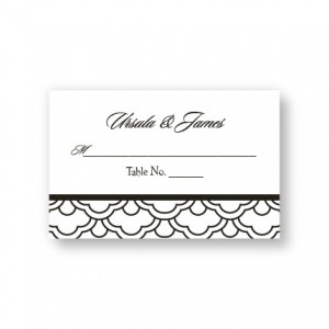 Fresh Expressions Seating Cards