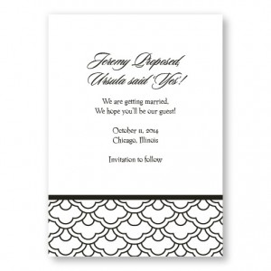 Fresh Expressions Save The Date Cards