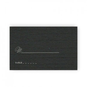 Sadie Thermography Seating Cards