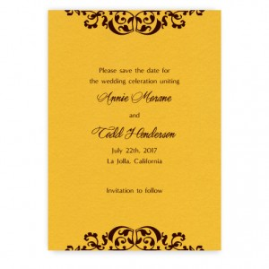 Sabrina Save the Date Cards