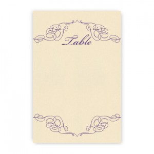 Reese Thermography Table Cards