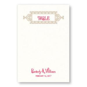 Lena Table Cards