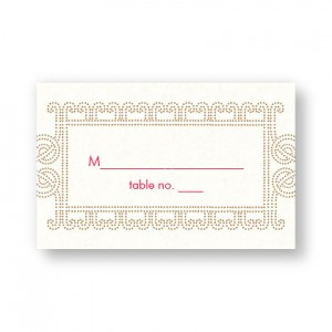 Lena Table Cards