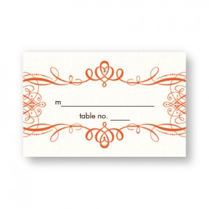Shannon Seating Cards