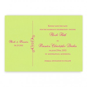 Phoebe Save the Date Cards