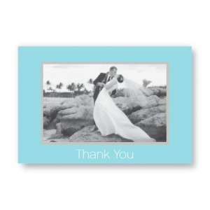Horizontal Framed Photo Note Cards