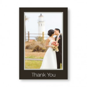 Vertical Framed Photo Note Cards