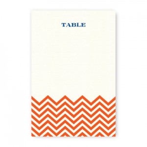 Frances Thermography Table Cards