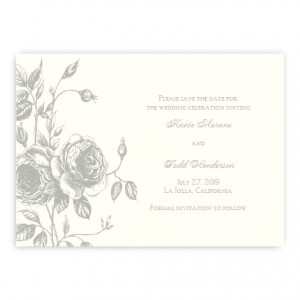 Elizabeth Save the Date Cards