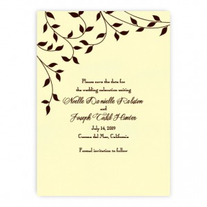 Noelle Save the Date Cards