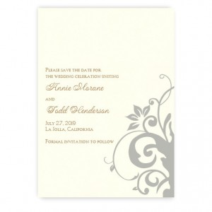 Cassandra Save the Date Cards